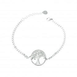 Bracelet chaîne, arbre de...