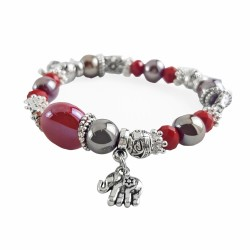 Bracelets charms rouge,...