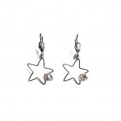 Boucles d'oreilles étoiles...