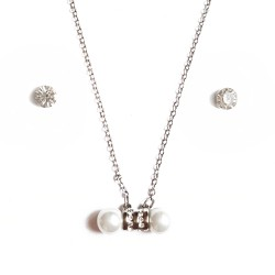 Coffret pendentif 2 perles...