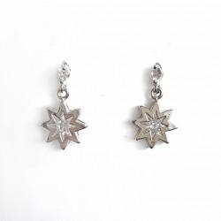 Boucles d'oreilles étoile à...