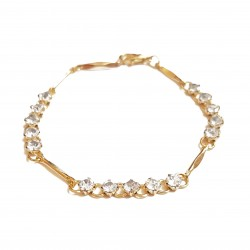 Bracelet chaîne, 3 rangs...