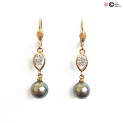 Boucles d'oreilles diamants...