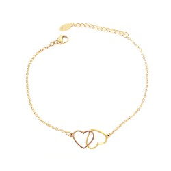 Bracelet chaîne, acier...