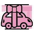 Logo rose livraison offerte