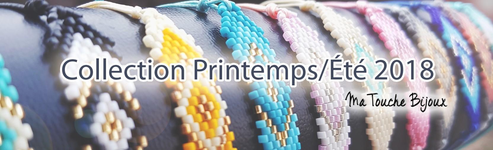 La collection Printemps/Ete 2018 se prépare sur le site web. Vite! Les beaux jours arrivent! Choisissez VOTRE touche bijoux!